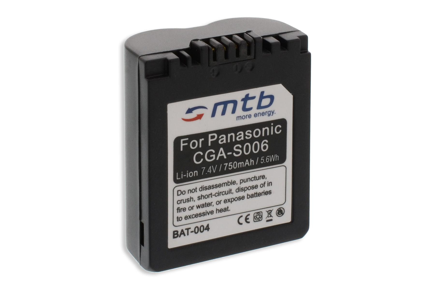 Batterie cga s006 pour panasonic lumix dmc fz7 fz8 fz18 - Batterie panasonic lumix dmc fz18 ...
