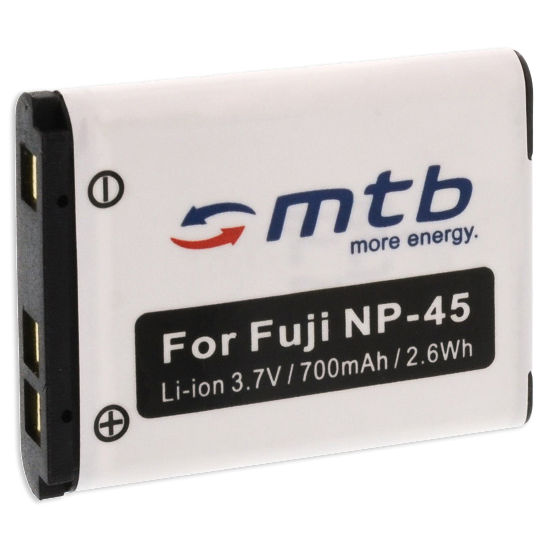 Ex-Pro Reemplazo Batería NP-45 NP45 para cámaras Fuji Finepix