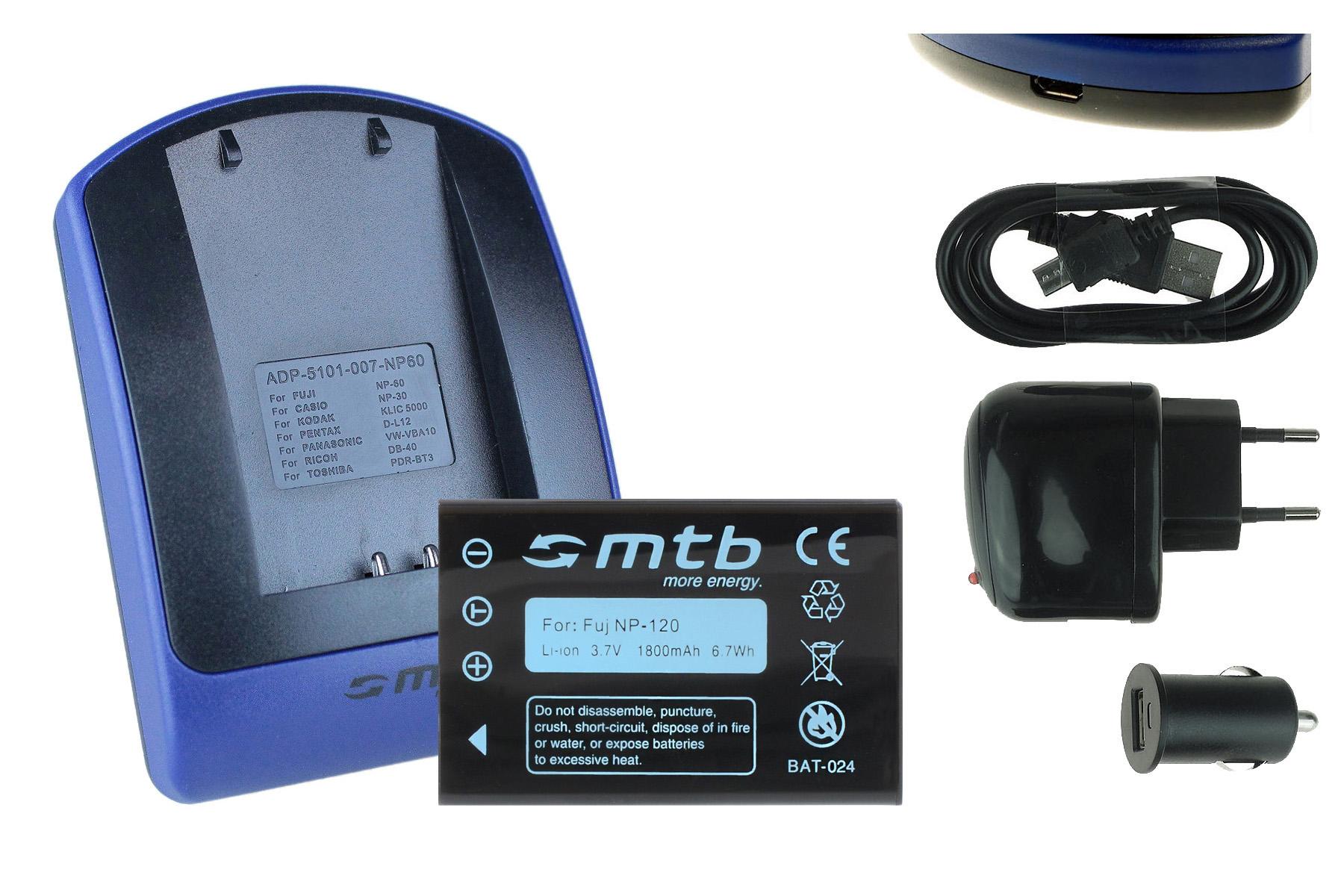 chargeur batterie usb np 120 pour silvercrest scaz a1 lidl ian 67099 ebay. Black Bedroom Furniture Sets. Home Design Ideas
